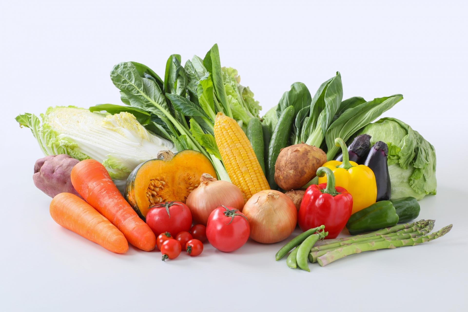 太るには野菜もたべよう